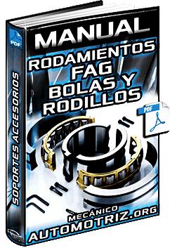 Manual de Rodamientos FAG de Bolas y Rodillos – Datos, Soportes, Accesorios