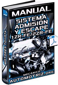 Manual de Sistema de Admisión y Escape de Motores 1ZR-FE y 2ZR-FE Toyota