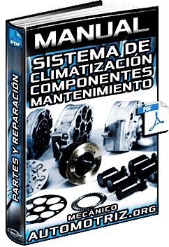 Manual: Sistema de Climatización - Partes, Componentes, Mantenimiento y Reparación