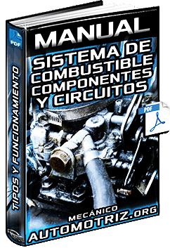 Manual de Sistema de Combustible - Tipos, Componentes, Carburador y Circuitos