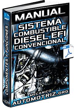 Manual de Sistema de Combustible Diésel de EFI - Componentes y Mantenimiento