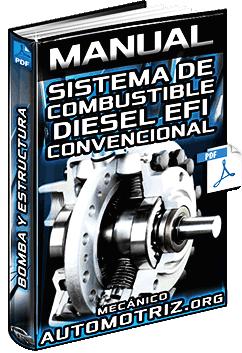 Manual: Sistema de Combustible Diésel EFI y Bombas - Estructura y Mantenimiento