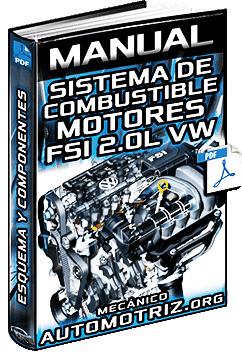 Manual de Sistema de Combustible de Motores FSI Volkswagen - Componentes
