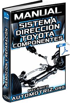 Manual de Sistema de Dirección Toyota - Componentes, Mecanismo e Inspección