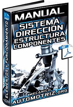 Manual de Sistema de Dirección - Estructura, Componentes y Funciones