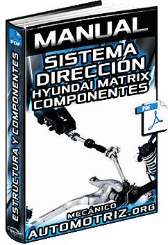 Manual: Sistema de Dirección de Hyundai Matrix - Componentes y Desarmado