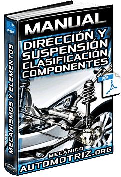 Manual: Sistema de Dirección y Suspensión - Clasificación, Componentes y Funciones