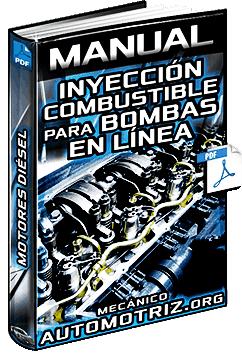Manual: Sis. de Inyección de Combustible para Bombas en Línea de Motores Diésel