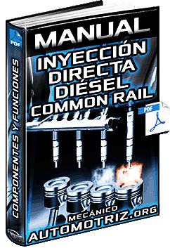 Manual de Sist. de Inyección Directa Diésel Common Rail – Componentes y Funciones