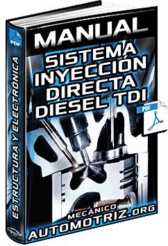 Manual de Sist. de Inyección Directa Diésel TDi – Gestión Electrónica y Sensores