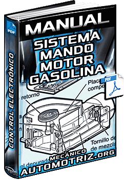 Manual de Sistema de Mando de Motor de Gasolina - Control Electrónico