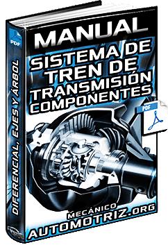 Manual: Sistema de Tren de Transmisión - Diferencial, Deslizamiento, Ejes y Árbol