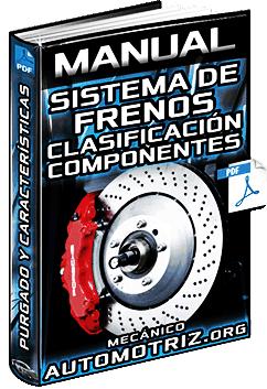 Manual: Sistema de Frenos – Clasificación, Componentes, Purgado y Características