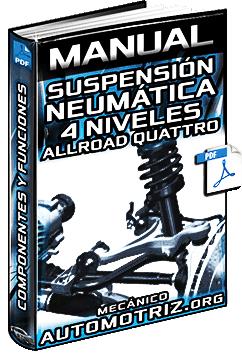 Manual de Suspensión Neumática de 4 Niv. AllRoad Quattro Audi – Componentes