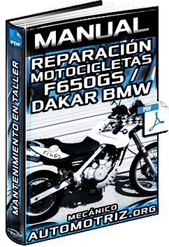 Manual de Motocicletas F650GS/Dakar BMW - Reparación y Mantenimiento