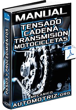 Manual de Tensado de la Cadena de Transmisión de Motocicletas