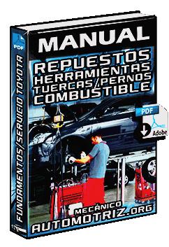 Manual de Servicio Toyota - Repuestos, Herramientas, Combustible y Lubricantes