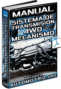 Manual de Sistema de Transmisión 4WD de Tiempo Completo - Entrenamiento Toyota