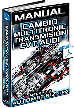 Manual de Cambio Multitronic Audi – Transmisión Continuamente Variable CVT