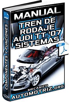 Manual de Tren de Rodaje de Audi TT Coupé '07 - Sistemas y Componentes