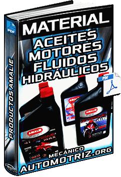 Material: Aceites de Motores, Transmisión y Fluidos Hidráulicos Amalie – Inspección