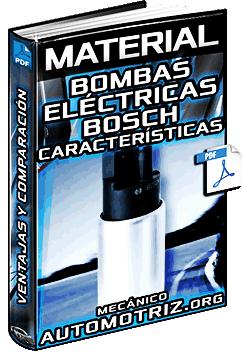 Material de Bombas Eléctricas Bosch – Características, Ventajas y Comparación