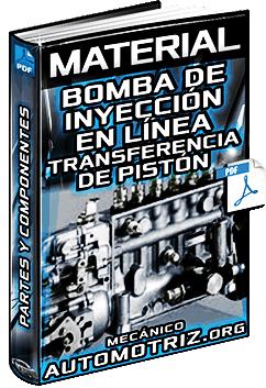 Material: Bomba de Inyección en Línea y de Transferencia de Pistón – Componentes