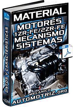 Material: Características de Motores 1ZR-FE y 2ZR-FE Toyota - Mecanismo y Sistemas