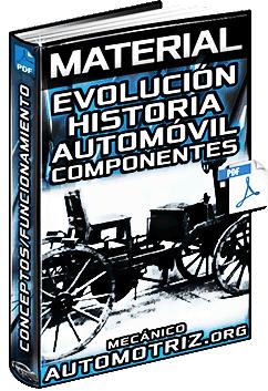 Material: Evolución Histórica del Automóvil y Componentes Básicos