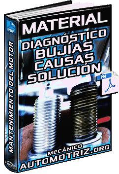 Material: Diagnóstico de Bujías del Motor – Estados, Causas y Solución