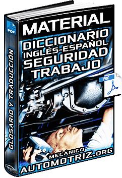 Material: Diccionario de Seguridad e Higiene en el Trabajo - Inglés a Español