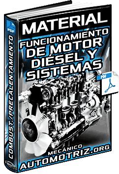 Material: Funcionamiento de Motor Diésel y Sist. de Combustible y Precalentamiento