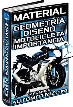 Material: Geometría y Diseño de Motos - Distancia de Ejes, Lanzamiento y Avance