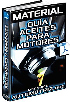 Guía de Aceites para Motores de Gasolina y Diésel - Rendimiento y Viscosidad