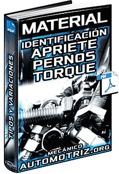 Material: Identificación y Apriete de Pernos - Variaciones de Torque