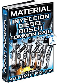 Material: Inyección Diésel Bosch Common Rail – Componentes y Esquemas