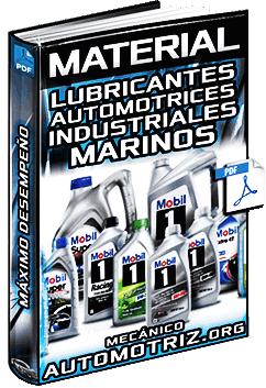 Material: Lubricantes Automotrices e Industriales Mobil – Aplicaciones