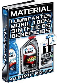 Lubricantes Mobil Sintéticos - Temperatura, Costos y Beneficios