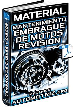 Mantenimiento del Embrague de Motos - Revisión del Tensado, Cables y Discos