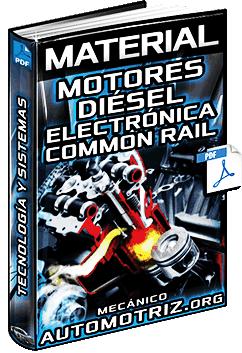 Material: Motores Diésel – Control Electrónico EDC y Sistema Common Rail