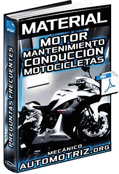 Material: Preguntas de Motos - Motor, Mantenimiento, Conducción y Accesorios