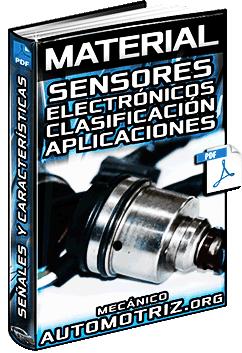 Clasificación de Sensores del Motor, Transmisión, Seguridad y Confort