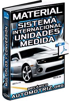 Sistema Internacional de Unidades de Medida SI – Múltiplos y Conversión