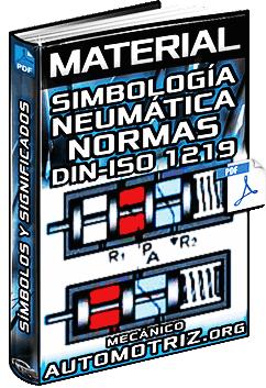 Material: Simbología de Neumática según las Normas DIN/ISO 1219