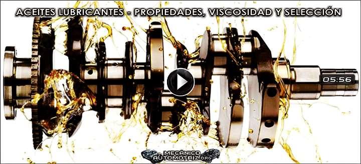 """Vídeo de Aceites Lubricantes – SAE, """"W"""", Propiedades, Viscosidad y Selección"""
