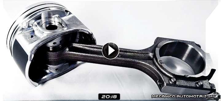 Vídeo: Ajuste de la Biela en la Reparación del Motor - Control, Montaje y Pruebas