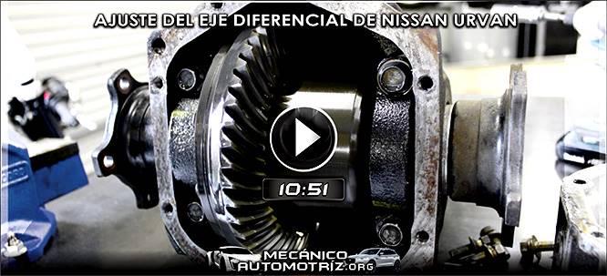 Vídeo de Ajuste del Eje Diferencial de Nissan - Instalación de Corona y Piñón
