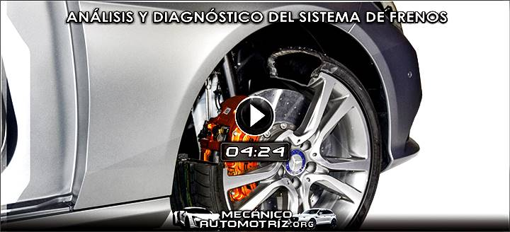 Vídeo de Análisis y Diagnóstico del Sistema de Frenos - Identificación