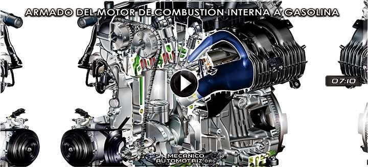 Vídeo de Armado del Motor de Combustión Interna a Gasolina – Animación 3D