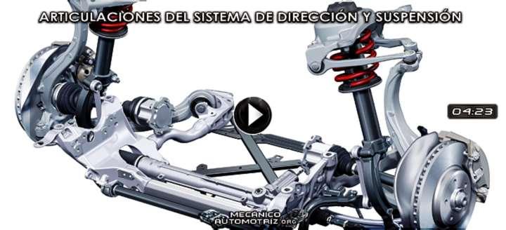 Vídeo de Articulaciones de los Sistemas de Dirección y Suspensión – Funcionamiento